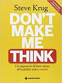 Libri di UX Design - Don't make me think