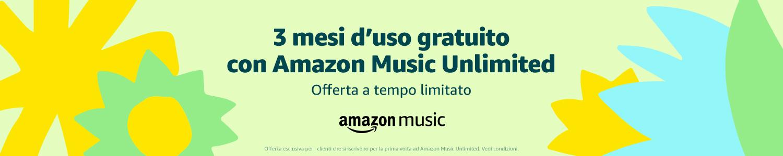 iscriviti ad amazon music unlimited